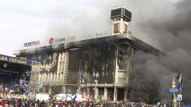 Рейдерский захват? Дом Профсоюзов в Киеве под следствием