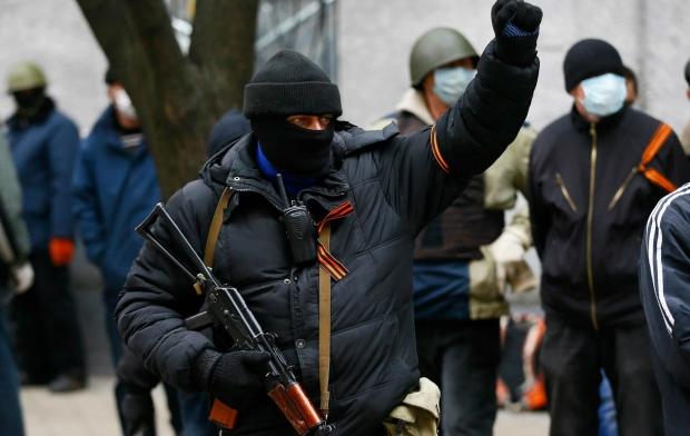 В Запорожье повредили сепаратистской акции
