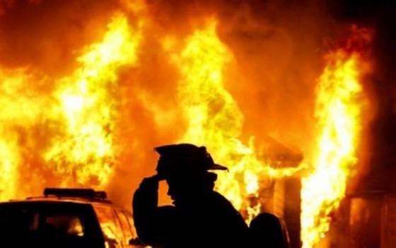 Ужасный пожар, который никого не оставит равнодушным!