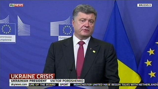 """Порошенко рассказал правду про Донбасс и Россию на весь мир! Его слова шокируют!"""" заблокирована"""