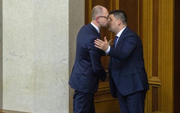 Яценюк VS Гройсман! Кто кого?