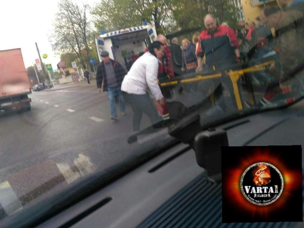 Шокирующие кадры сбитого автомобилем подростка в Львове всколыхнули всю страну!(ФОТО 18+)