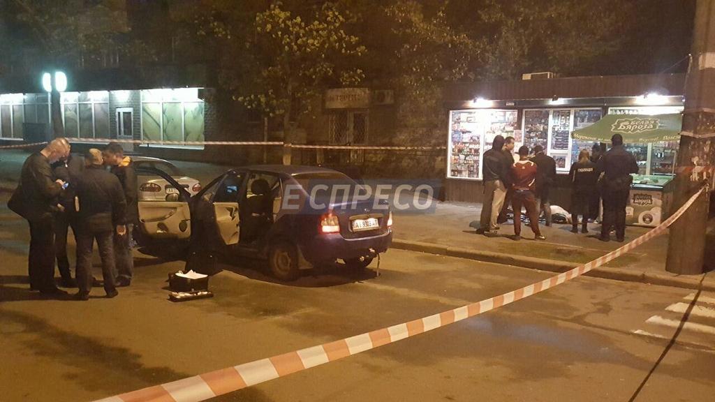 Кровавая ночь: в Киеве зарезали таксиста, опубликованы фото (18+)