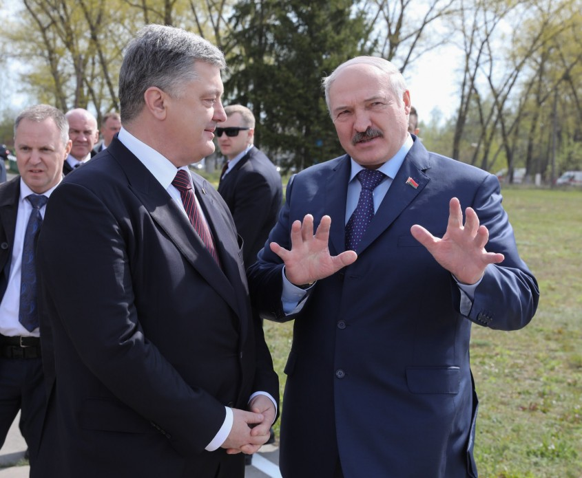 Порошенко и Лукашенко посетили Чернобыль. То что сказал лидер Белоруссии про нашего президента удивит вас не на шутку!