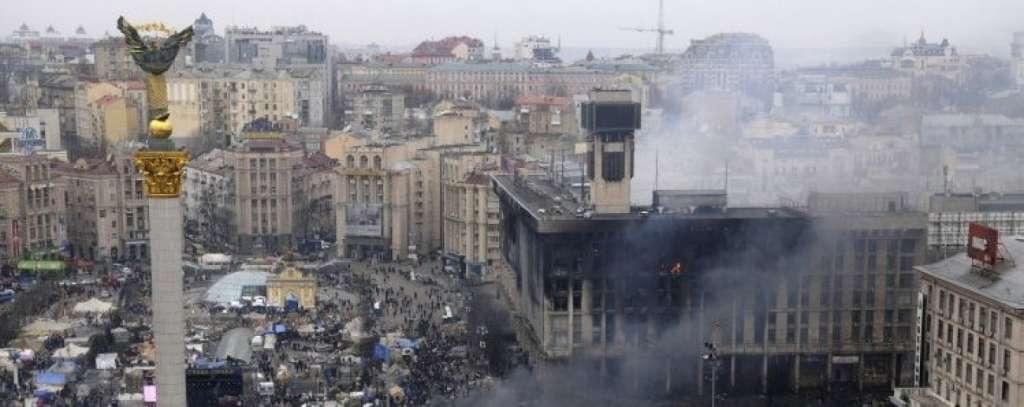 СРОЧНО!!! В самом центре Киева назревает серьезный конфликт! На месте работают следователи(ВИДЕО)