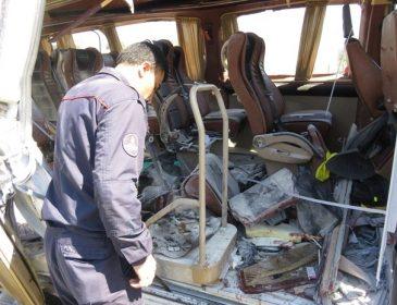 СРОЧНО! Случилась страшная трагедия! Взорвался автобус, полный студентов. Фото, которые доведут вас до истерики!