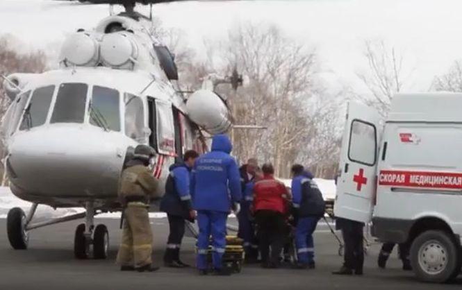 СРОЧНО! Разбился вертолет с туристами. Есть жертвы
