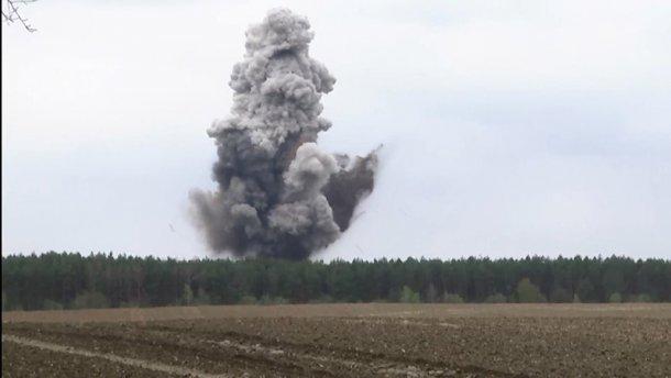 СРОЧНО! На Винничине прогремела серия взрывов! Обезвредили 4 бомбы!