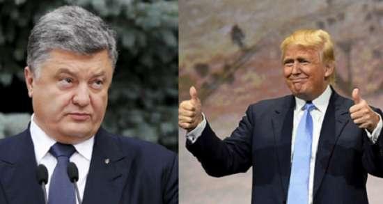 Трамп на посту 3 месяца, снизил налоги. Порошенко руководит 3 года, обложил данью даже бедных. Украинцы богаче американцев?, – нардеп