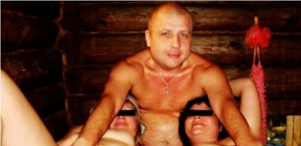 «Русский мир во всей красе»: Как офицер ГРУ развлекается в бане с проститутками. Зрелище не для слабых (ВИДЕО 18+)