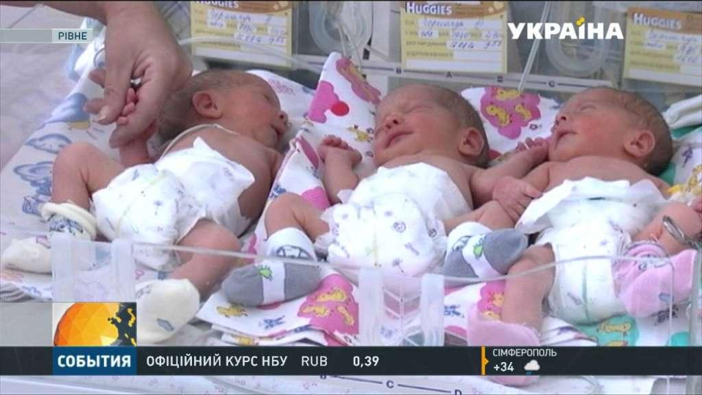 Родила тройню в 48 лет: появилось видео с сестричками «киборга» в Житомире