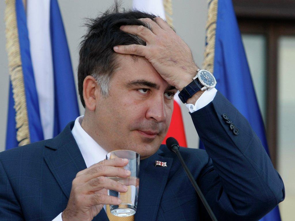 КАКАЯ НАГЛОСТЬ!!! Саакашвили назвал подонком ветерана АТО в эфире своей передачи, украинцы ему этого не простят