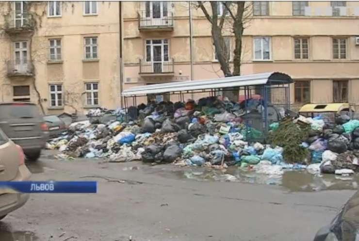 Экологической катастрофе быть? Львовский гор совет рапортует о более 250 неубранных мусорных площадок