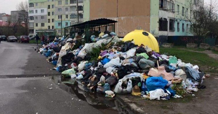 Мусорный апокалипсис! Культурная столица Украины продолжает превращаться в свалку!