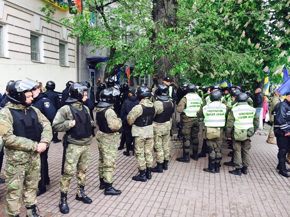 СРОЧНО!!! В Киеве штурм штаба ОУН! Украина в паціці! Что происходит? (ФОТО+ ВИДЕО)