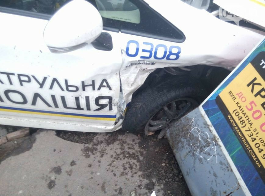 Полиция спровоцировала жуткое ДТП! Есть пострадавшие! Они точно должны нас защищать? Шокирующие фото!