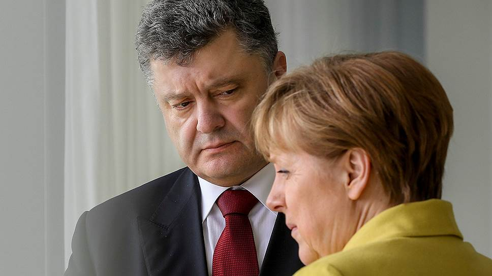 ВОТ ТАК ПОВОРОТ!!! Меркель рассказала Порошенко о результатах своего визита в Россию, наш президент в шоке