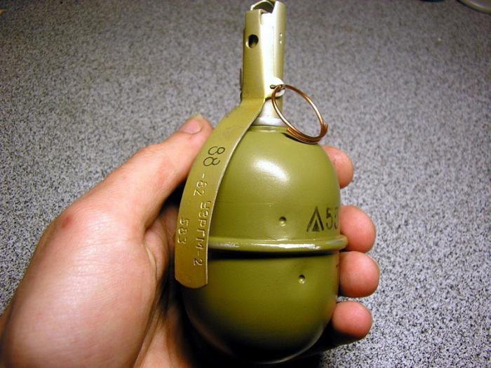 ЖУТКОЕ ВИДЕО: На дворе штаба «Самообороны» взорвали гранату