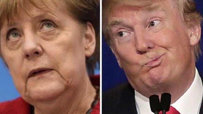 Ну Вы только послушайте: Меркель говорила с Трампом об Украине! Чего ждать рядовому украинцу?
