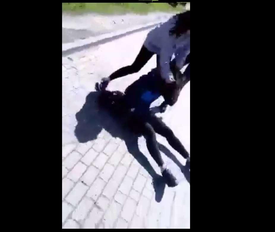 СРОЧНО!! В Польше украинскую школьницу жестоко избил толпу. От этих кадров мороз по телу (ВИДЕО)