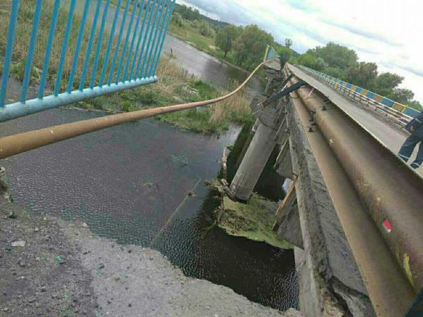 СРОЧНО!!! На Харьковщине брушилася часть 245-метрового моста! Не упадите от УЖАСА!