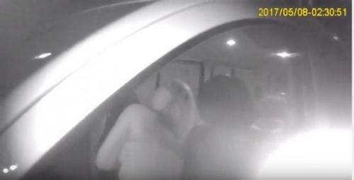 Когда нет водительских прав и когда еще совсем молодая..: Эпическое видео погони за пьяной девушкой
