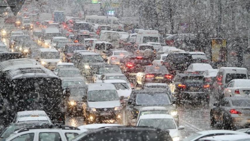 ГОТОВЬТЕСЬ!!! В Киеве уже выпал снег, вы точно будете в шоке от этих кадров