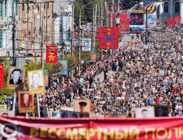 Совсем с ума сошли: на параде в Москве почтили террористов