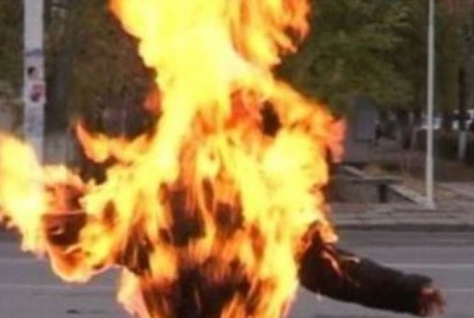 На Львовщине мужчина едва совершил самосожжения на автозаправке! Детали наводят ужас!