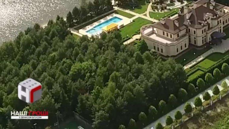 Глаза уже не затылке!!! Появились сверхроскошные фото дворца известного нардепа, он точно не знает сколько там комнат