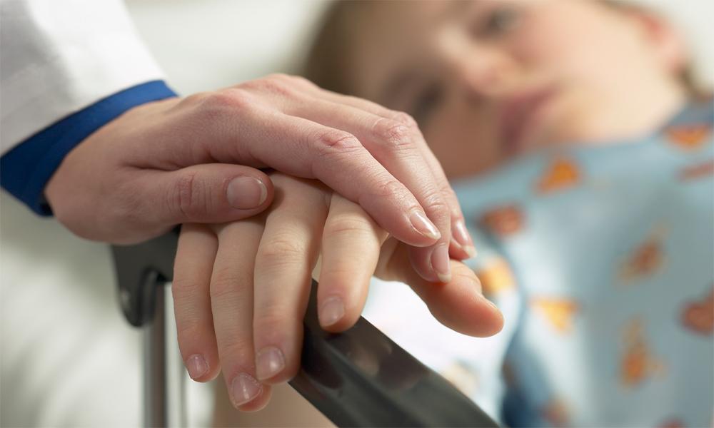 Настоящее горе! Годовалый младенец попал в больницу с сильными ожогами!