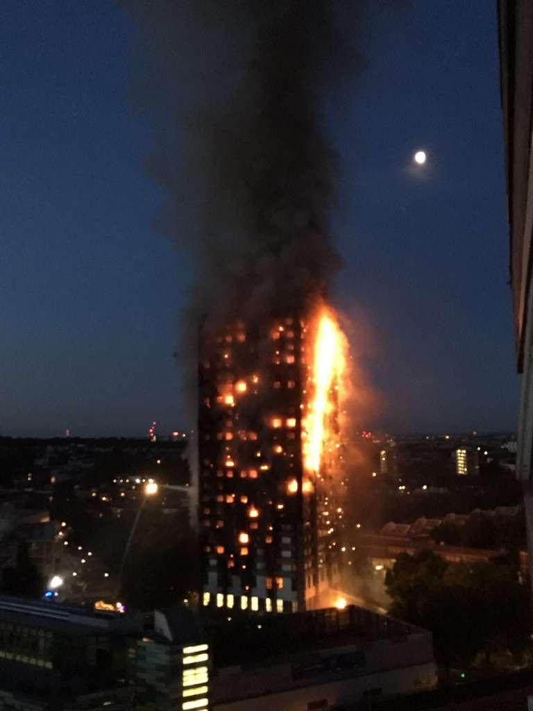 Шокирующая новость! Многоэтажка сгорела дотла (фото)