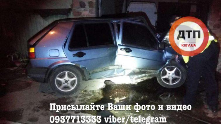 ДТП с погоней в Киеве: пьяный водитель убегал от копов! ужасающие ФОТО