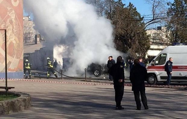СРОЧНО! В центре Киева прогремел мощный взрыв! Шокирующие подробности и первые фото!