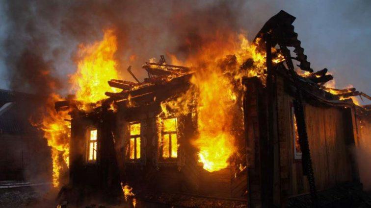 Он сгорел заживо: в Донецкой области произошел пожар, от которого мороз по коже, есть погибший
