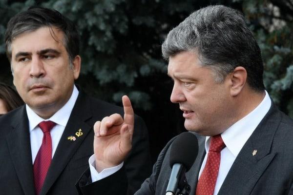 «Не знаю, что он до сих пор делает в Украине Порошенко поразил резким заявлением о Саакашвили! Что они не поделили?