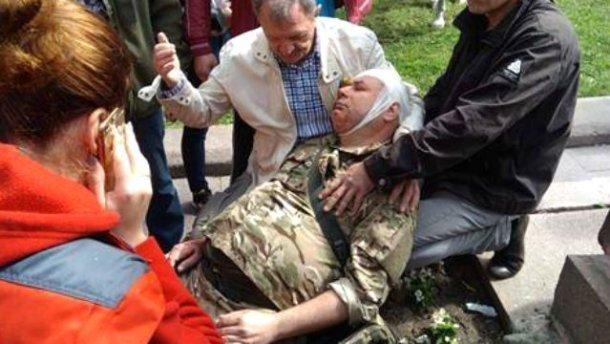 Язык отнимает: полиция жестоко избила и задержала ветеранов АТО, эти кадры наводят ужас