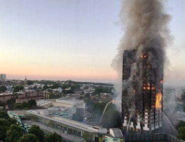 Невероятный подвиг: Мужчина поймал ребенка, которого мать выбросила с 10-го этажа горящего здания