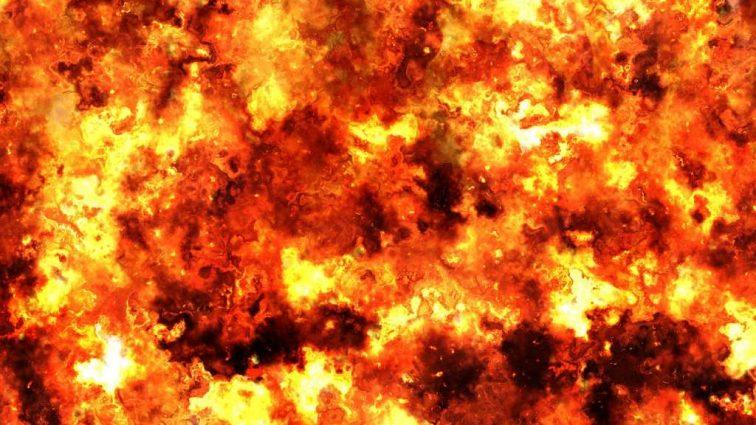 СРОЧНО! В Киеве прогремел СВЕРХМОЩНЫЙ взрыв! Все пылает! шокирующие ФОТО