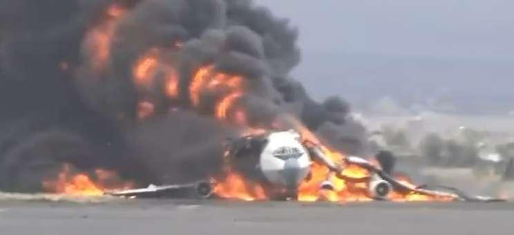 Страшная трагедия: Появилось жуткое видео падающего самолета. Кровь стынет в жилах