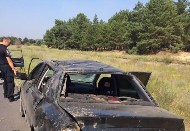 Жуткая ДТП на Херсонщине: В результате столкновения двух автомобилей пострадала женщина