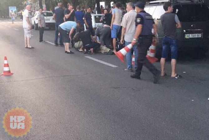 НЕ ДЛЯ СЛАБЫХ!!! В Днепре застрелили двух человек прямо посреди улицы, эти фото наводят на ужас (18+)