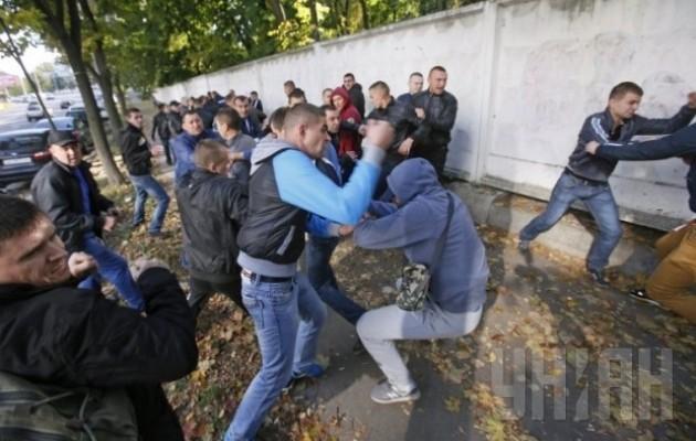 СРОЧНО!!! В Одессе произошла страшная массовая драка, то, что там делалось доводит до истерики
