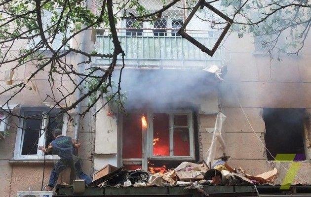 На Ровенщине в многоэтажном доме произошел мощный взрыв