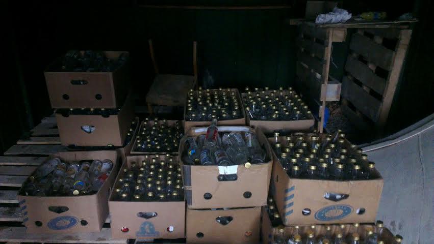 На Киевщине прекращено незаконное производство фальсифицированной алкогольной продукции! Размахи ПОРАЖАЮТ!