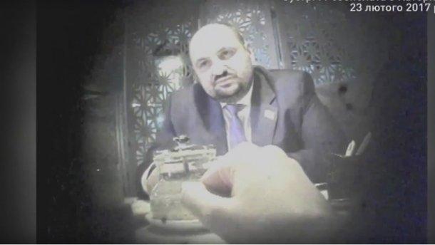 Попалився! НАБУ показало полное видео следствия по «янтарной делу»! Розенблат занервничал