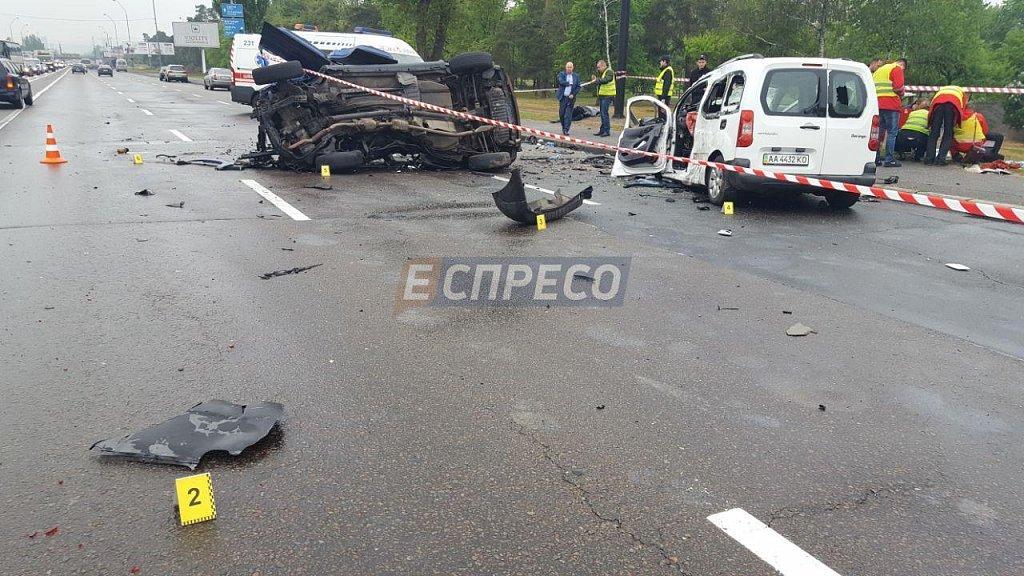 В Харькове произошло страшное смертельное ДТП, там был ужас