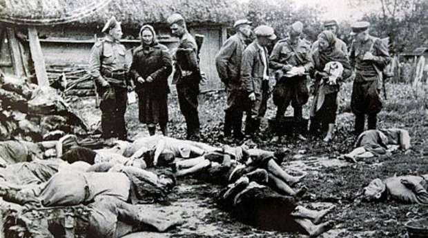 Международный скандал: «геноцид поляков» проиллюстрировали убитыми украинцами