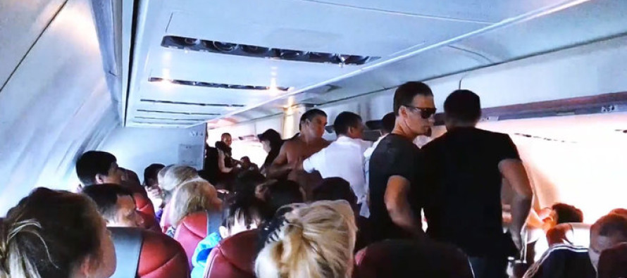 «Большое дерьмо — это русские…» Инцидент произошедший во время авиарейса Москва — Барселона шокировал весь мир