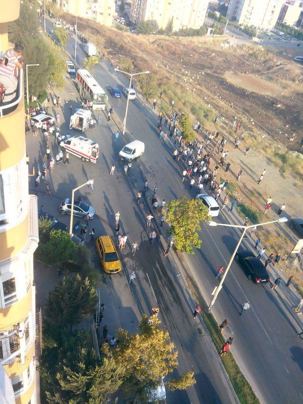 СРОЧНО! На известном курорте взорвали автобус с пассажирами. Взрыв переполошил весь город. То, что там творилось на голову не налазит